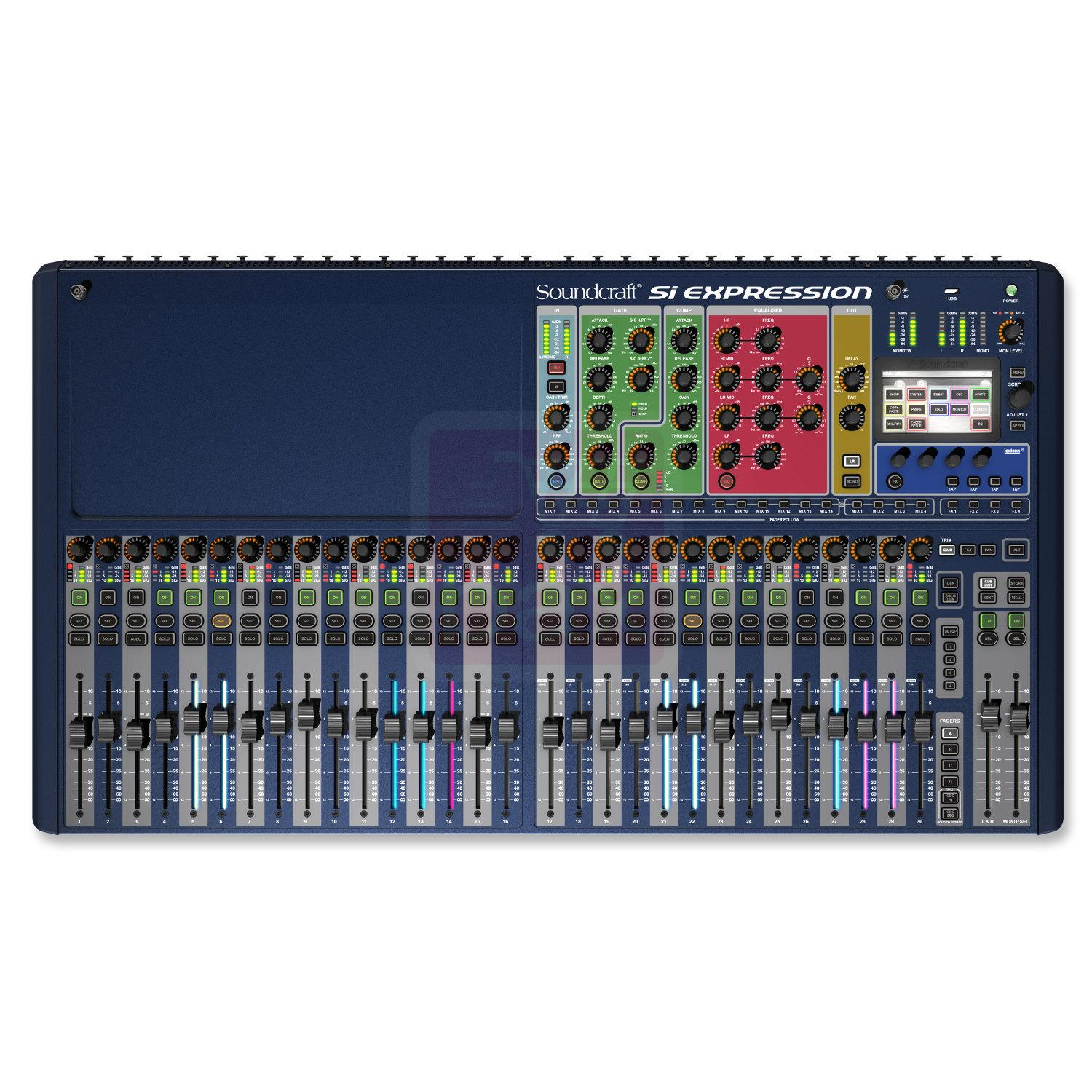 Console soundcraft si expression 32 entrees 1