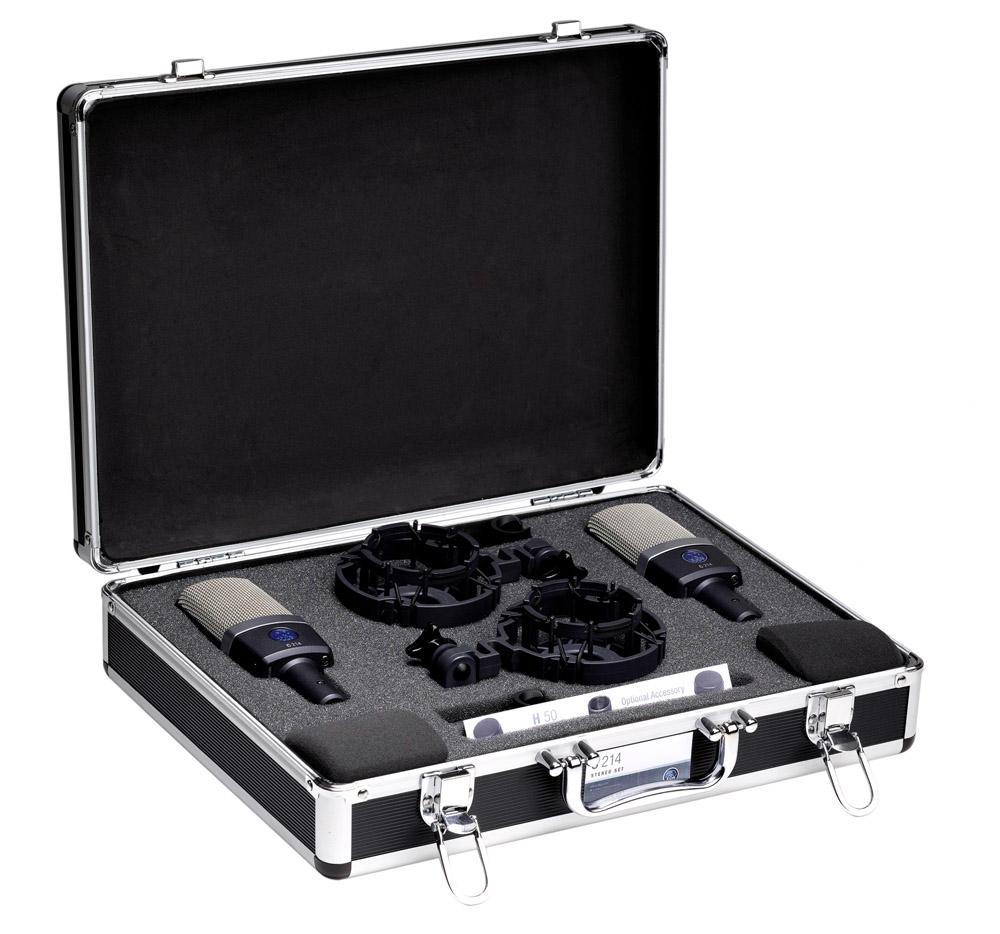 Micro statique akg kit stereo 2 micros c214